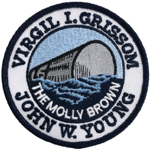 NASA Gemini 3 Mission 'Molly Brown' Patch